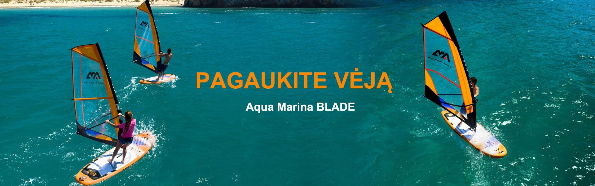 Burlentė Aqua Marina BLADE